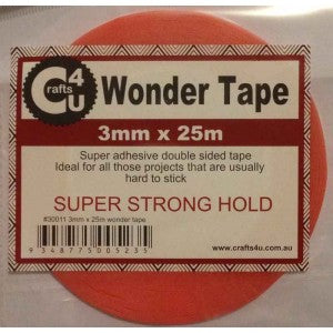 Crafts 4 U Wonder Tape  - 3mm