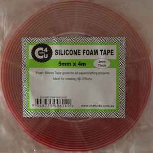 Crafts4U Silicone Foam Tape  - 5mm x 4m