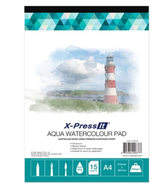 XPress It - A4 Aqua Watercolour Pad