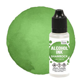 Alcohol  Ink - Botanical / Shamrock - 12ml