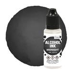 Alcohol  Ink - Pitch Black / Midnight  - 12ml