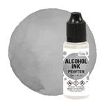 Alcohol  Ink -  Pewter - 12ml