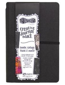 Dylusions Black Small Journal