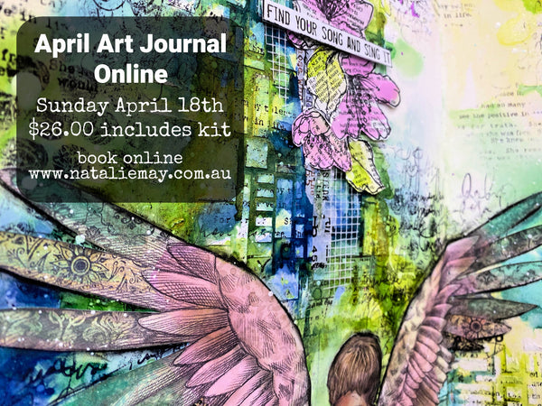 April 2021 Online Art Journal Class