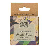 Earth Greetings Washi Tape - Lemon-scented Gum