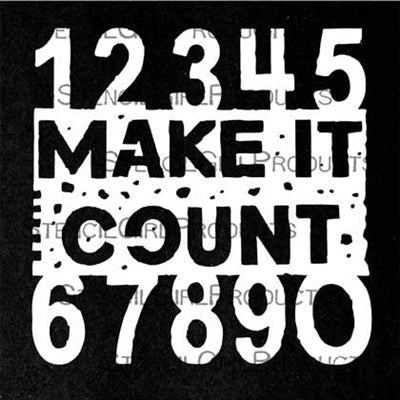StencilGirl - Make it Count