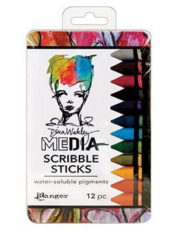 Dina Wakley Media Scribble Sticks Set 2
