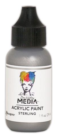 Dina Wakley Media Acrylic Paint - Sterling