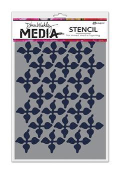 Dina Wakley Media Stencils - Wallpaper