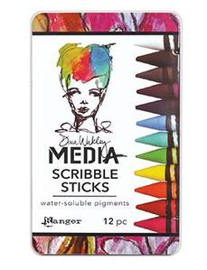 Dina Wakley Media Scribble Sticks Set 1