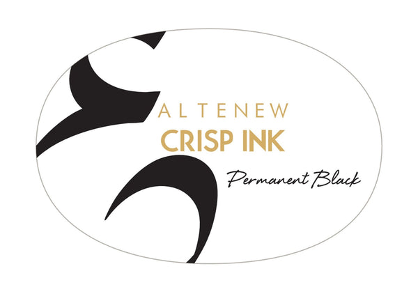 ALTENEW Permanent Black Crisp Dye Ink