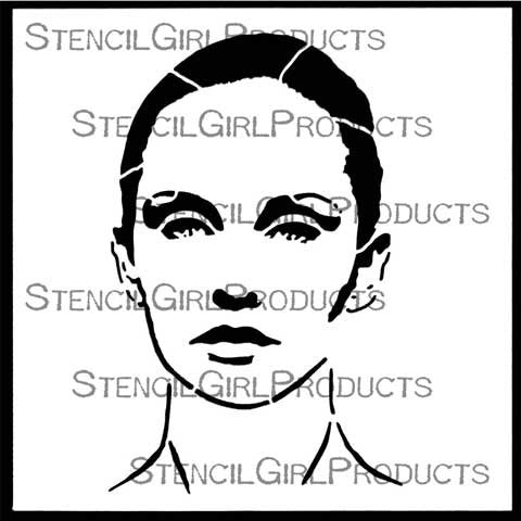 Stencil Girl - Abigail, A Timeless Woman