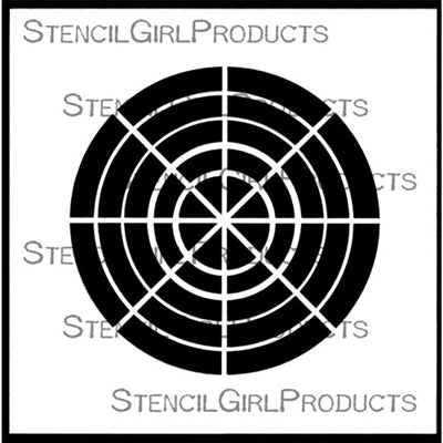 StencilGirl - 8 Color Swatch Wheel