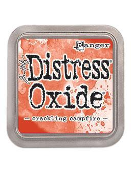 NEW COLOUR!!!Tim Holtz Distress® Oxide® Ink Pad Crackling Campfire