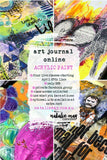 Art Journal Online - 4 Acrylic Paint Classes