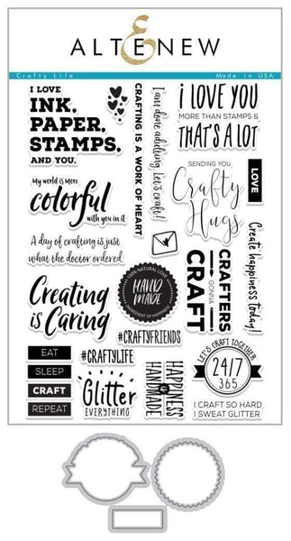 ALTENEW Crafty Life Stamp & Die Bundle