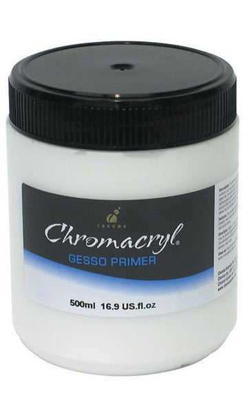 Chromacryl Gesso White 500ml