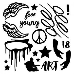 13@rts Chipboard - Young and Free