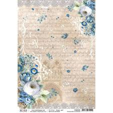 Ciao Bella Single Rice Paper Sheet - Rinascimento Estense