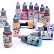 Tim Holtz Distress Oxide Reinkers - Bundled Sage