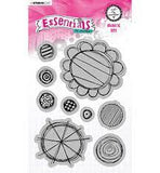 Avery Elle Clear Photopolymer Stamps - Peek-A-Boo Jungle