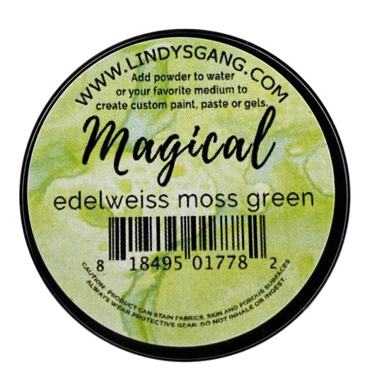 Lindys Magical - Edelweiss Moss Green Magical