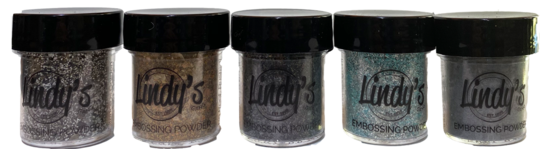 Lindys Embossing Powder Sets - Metal Maniacs
