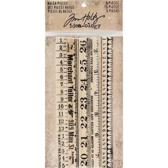Tim Holtz - Rulers by Idea-Ology