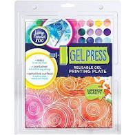 Gel Press - Reusable Gel Printing Plate - 8X10 Inches