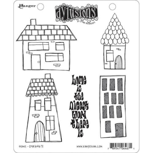 "Dyan Reaveley's Dylusions Cling Stamp Collections 8.5""X7"" Home"