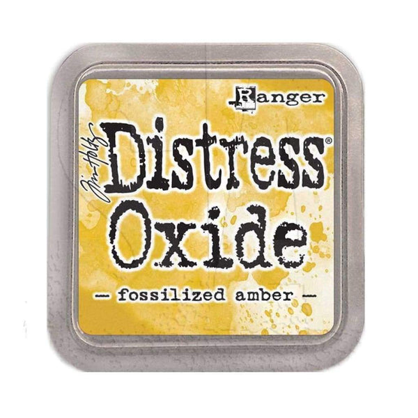Tim Holtz Distress Oxide - Fossilized Amber