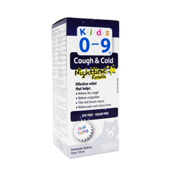 Homeocan Kids 0-9 Cough & Cold Nighttime Syrup