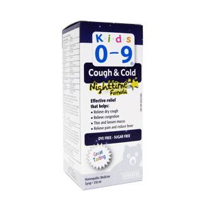 Homeocan Kids 0-9 Cough & Cold Nighttime Syrup - fifibaby