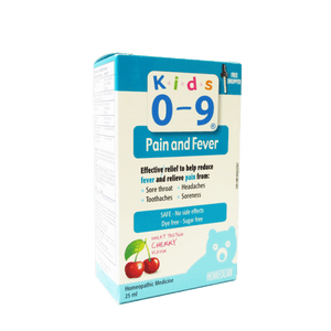 Homeocan Kids 0-9 Pain & Fever - 25 ml - fifibaby