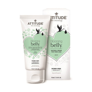 Attitude Blooming Belly Natural Cream For Tired Legs 75ml - fifibaby