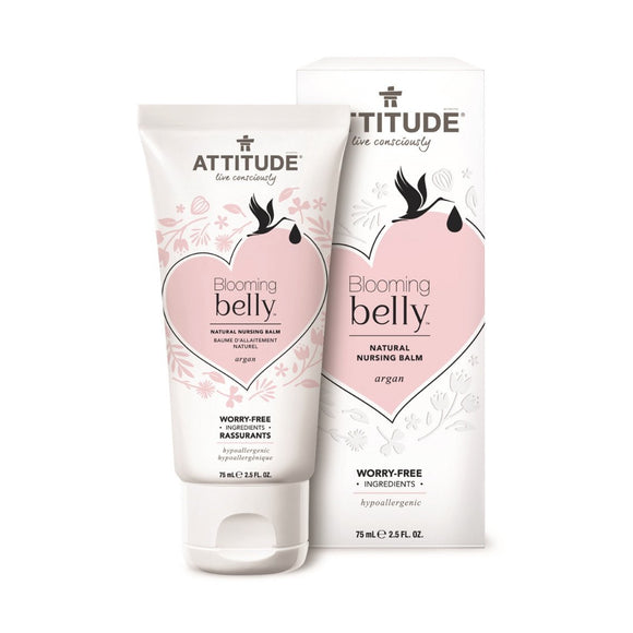 Attitude Blooming Belly Natural Nursing Balm 75ml - fifibaby