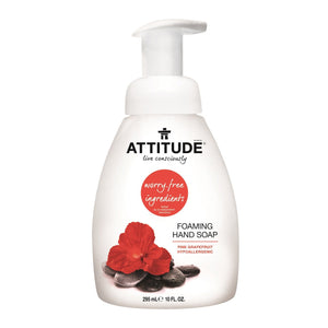 Attitude Foaming Hand Soap 10oz - fifibaby