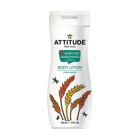 Attitude Little Ones Worry-Free Ingredients Body Lotion 12oz - fifibaby