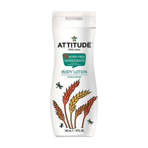 Attitude Little Ones Worry-Free Ingredients Body Lotion 12oz