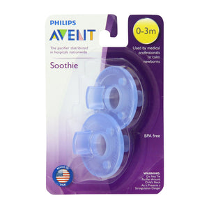 Philips AVENT 2 Pack Soothie 0-3M Pacifier
