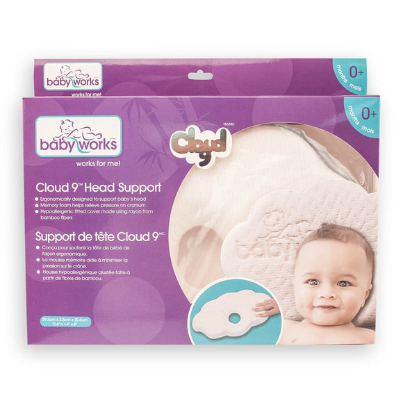 Baby Works Cloud 9 Head Support 0+ - fifibaby