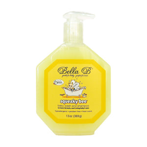 Bella B Squeaky Bee Bodywash and Shampoo 369g - fifibaby
