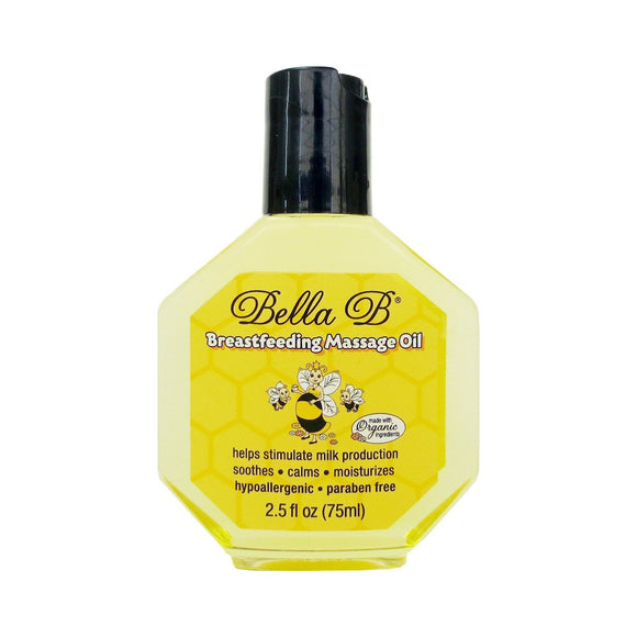 Bella B Breast Feeding Massage Oil 75ml - fifibaby