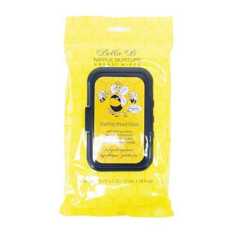Bella B Nipple Nurture Breast Wipes 24 Wipes