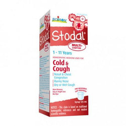 Boiron Stodal 1-11 Years Cold & Cough Multi-Symptom 125ml