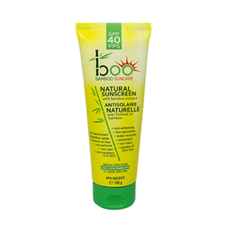 Boo Bamboo SPF 40 Natural Sunscreen with Bamboo Extract 100g