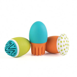 Boon SCRUBBLE Interchangeable Bath Squirt Toy Set - fifibaby