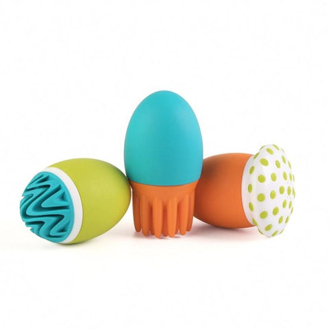 Boon SCRUBBLE Interchangeable Bath Squirt Toy Set