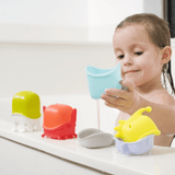Boon CREATURES Interchangeable Bath Toy Cup Set