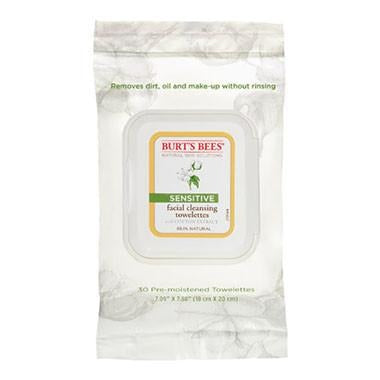 Burt's Bees Facial Cleansing Towelettes 30 Wipes